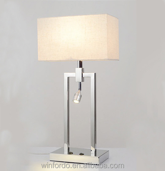 2017 CE approved Modern hotel gest room bedside Table lamp collection model No. WF-6153-1T