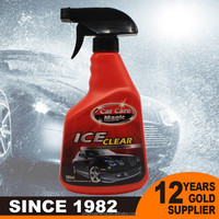car windshield de-icer ice remover spray