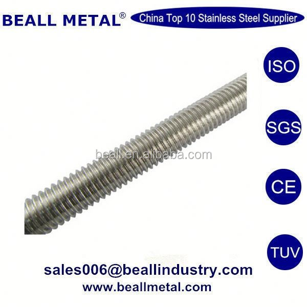 Full thread rod double arming bolt threaded stub