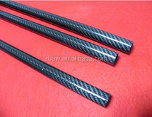 6mm 8mmm 10mm 12mm etc Small diameter Carbon fiber tubes rod for pen aircraft toy CNC cutting