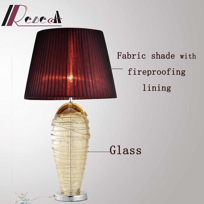 guzhen rebecca lighting american style glass table lamp. Black Bedroom Furniture Sets. Home Design Ideas