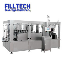 330ml automatic beverage filling aluminum tin fruit juice canning machine