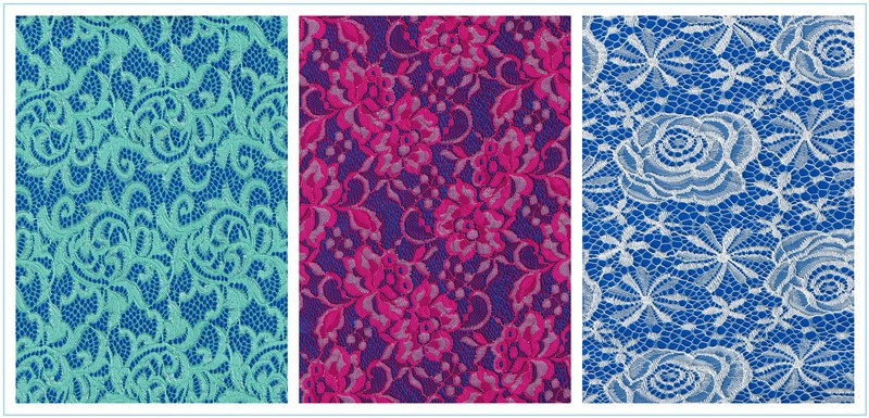 Hongtai Low price factory High Quality Cheap Border Swiss Floral lace fabric in China