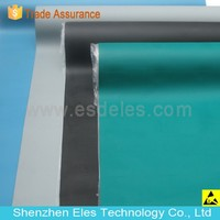 Green ESD Mat for Electronic Production Safety