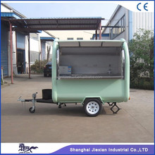 JX-FR220B Shanghai Jiexian mobile fast food trailer mobile snack cart mobile food sale trailer