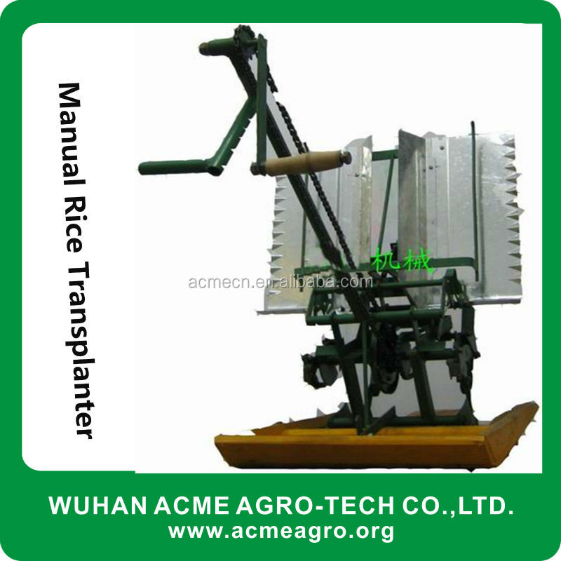 Hot Sale Profesional Manufactured Diesel Engine With Fertilizer Application Paddy Field Manual Rice Planting Machine