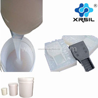 Two part clear liquid silicone for rapid prototyping transparent silicone rubber