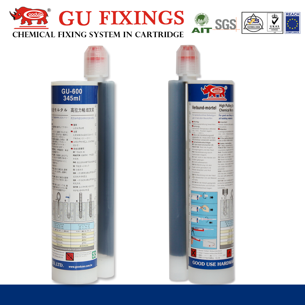 Chemical anchoring system grade 4.8 chemical fixing flooring epoxy based sealant for automotive
