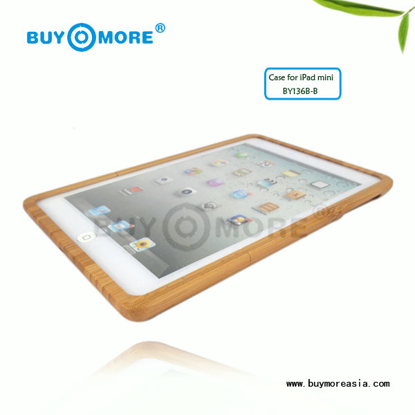 POPULAR Products bamboo case covers for ipad mini and for ipad mini tablet covers