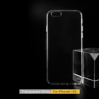Custom Design Wholesale PC Transparent Clear Blank Cell Phone Case For iPhone 6