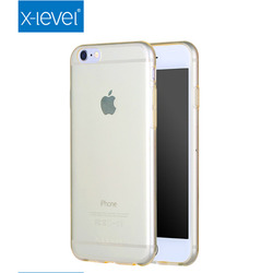 X-Level 0.7 mm ultra thin crystal clear tpu mobile phone case for iPhone 6s