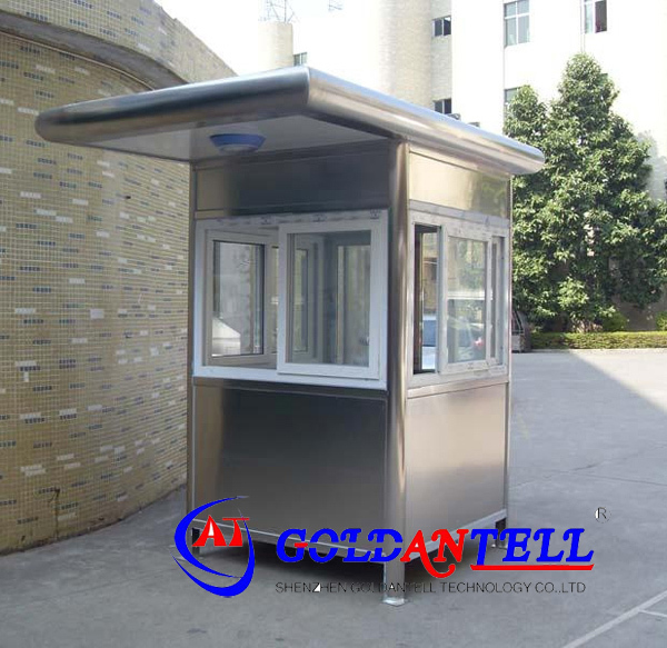 High Quality Movable Portable Outdoor Booths Stainless