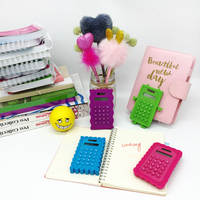 Kids Novelty Calculator With Silicon Cover
