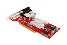 ATI RADEON 9200 PCI 256M DDR 128 BIT LOW PROFILE VIDEO CARD WIHOUT FAN
