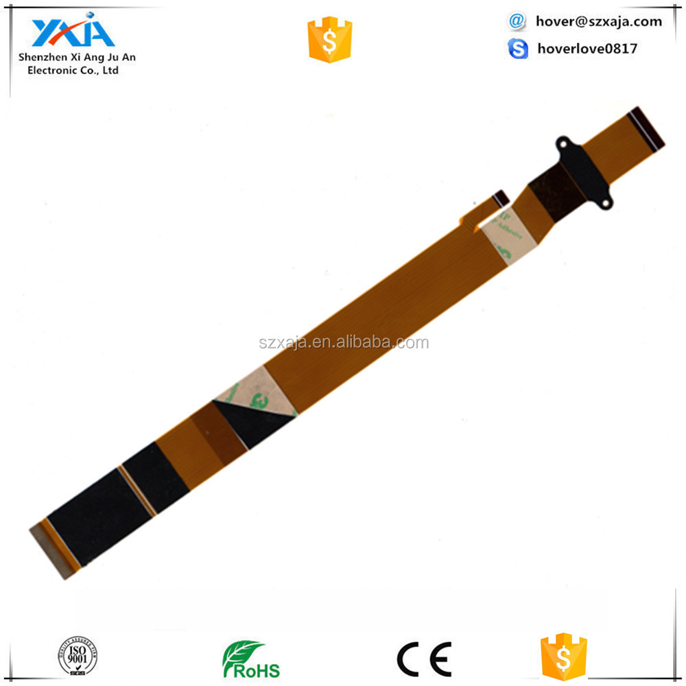 XAJA New FFC FPC flat flexible cable 1.0mm pitch 7 pin Reverse Length 120mm Width 8mm Ribbon Flex Cable Free Shipping