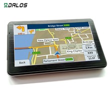 "7"" Car Auto 4G Car Navigation GPS Navigator Sat Nav Map Audio Video FM US Hot Selling"