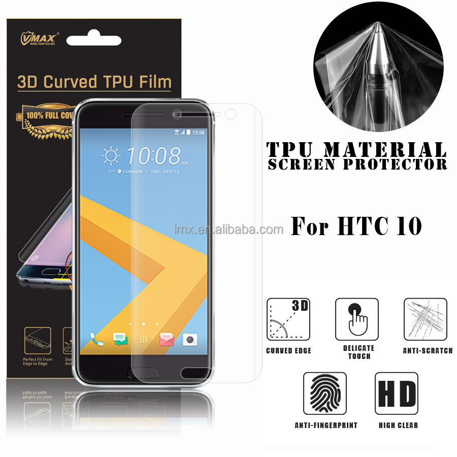 Cell Phone/Mobile phone accessories privacy screen protector film guard for HTC 10 PRO/Lifestyle