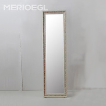 2017 CE IP44 Classic antique wooden frame floor stand dressing mirror