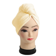 Shower Hair Towel Wrap Super Absorbent Bamboo Hair Towel Shower and Swimming Soft Hair Turban Drying Cap