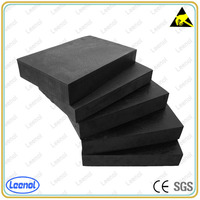 LN-7020B ESD Black PU foam Packing and Protecting Material