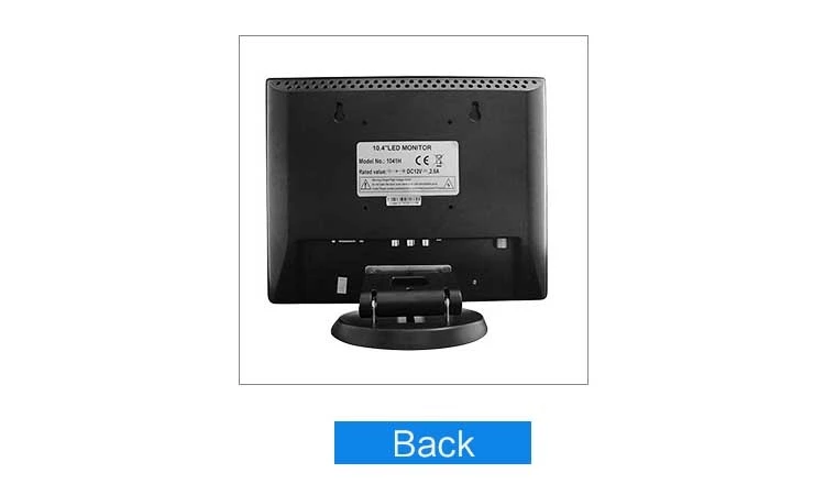 Best price high brightness cctv monitor 14 inch bnc cctv lcd monitor with av input