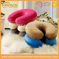 Comfort U shape Neck Rest Cheap Memory Foam Air Car Travel Pillow for car
