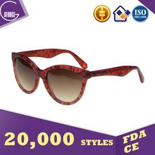 China suppliers cat eye spectacle frame,fashion acetate sunglasses,gradual brown lens glasses