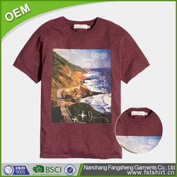 top selling digital printing t-shirt specification for men