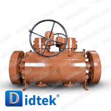 Didtek International Painting A105 Cast Steel Double Block and Bleed DBB Ball Valve