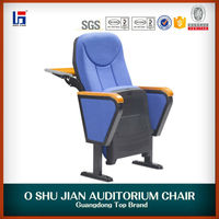 2014 good design school auditorium chair with back writing table SJ6607