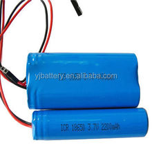 rechargeable li-ion battery 18650 3.7v 1400mAh400mah 5000m li ion battery 18500 with mobile phone battery making machine