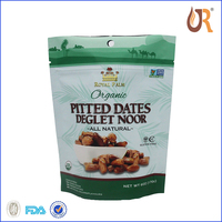 Agriculture Food Grade Small Zip Lock Plastic Bags for dates
