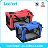 High quality folding soft pet crate, pet carrier