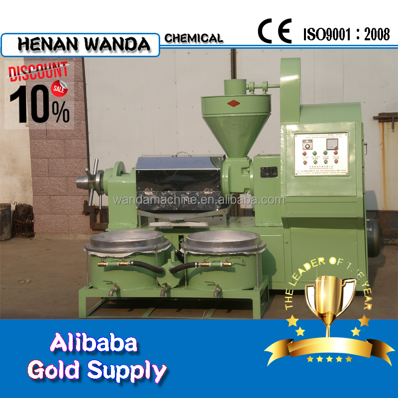 6YL-68A small soya beans colza oil machinery manufacturers