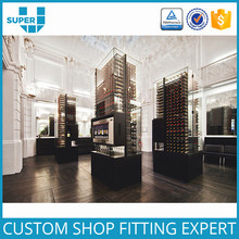 Guangzhou Manufacturers Custom Commercial Glass Cabinet Beer Rack