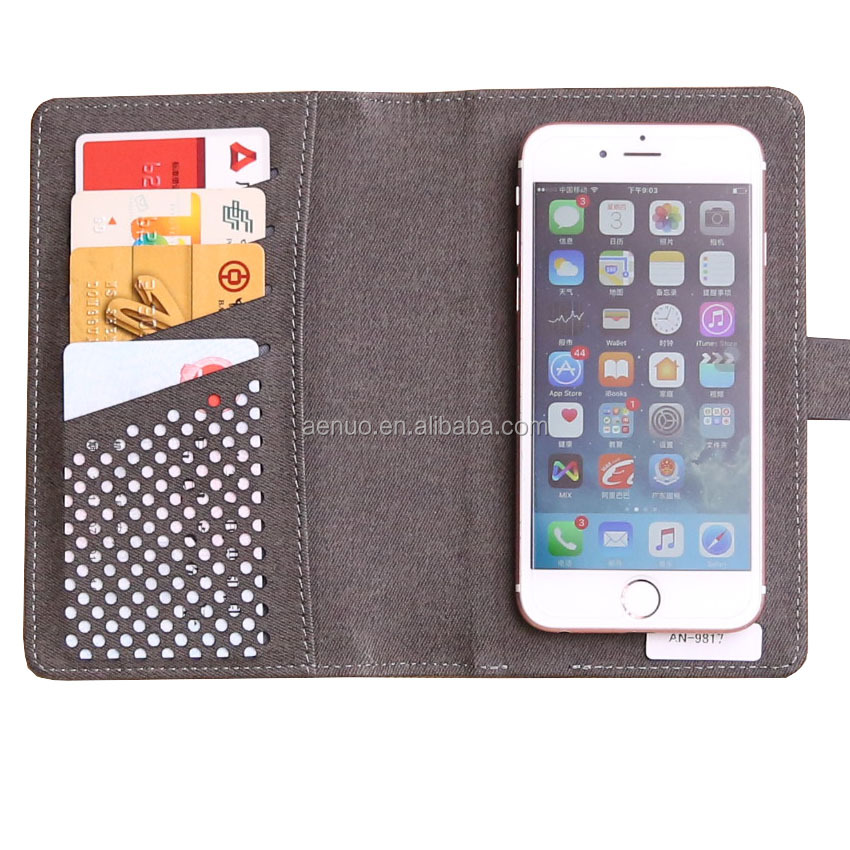 Promotion VIP Gifts PU Phone protect case leather mobile phone flip case with powerbank and card holder