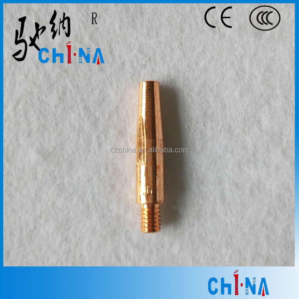Red Copper M6*40*1.6 Contact Tip