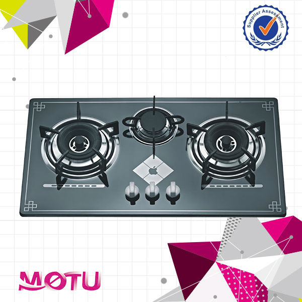 2016 hot-selling 3 burners gas hob / gas stove MT3-G-G2