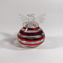 new glass angel memorial ornaments for christmas