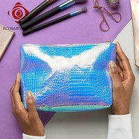 China Factory Holo PU Cosmetic Bag