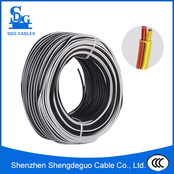 Copper conductor flat wire cable manufacturer with sheathed insulator