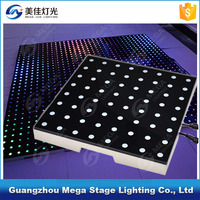 touch sensitive floor 8x8pixels portable interactive led dance floor
