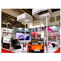 Saria offer for Beijng CAR SHOW, design modular exhibition booth display and build the exhibition booth in trade show live