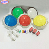 New Arcade 100mm LED Illuminated push button for Pop'n Music Project 5 Color
