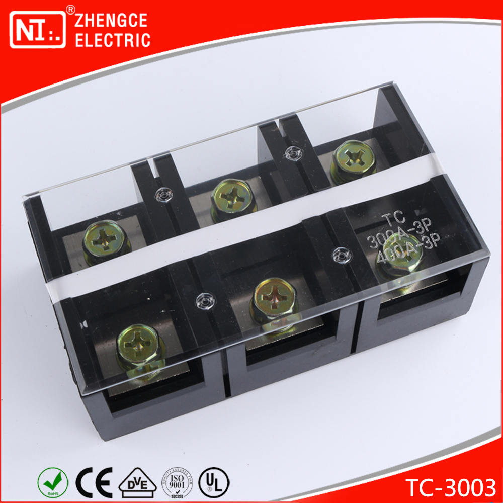 Manufacturer Electrical TC Type Terminal Block TC - 3003 With 600V 300A