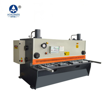 High quality low price small mechanical shearing machine qc12y-6x3200 hydraulic shearing machine for sale