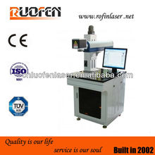 10w / 20W / 50w /100w Jewelry/ring/pipe/hardware/plastic nonmetal and Metal fiber laser marking machine