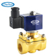electric magnetic solenoid valve with low power coil directing acting