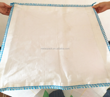 flat bottom fibc big plastic bags 500kg