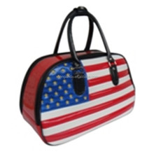 America Country Flag Feature Golf Boston Bag for Golfmate
